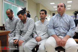 عکس/ ششمین جلسه دادگاه عوامل داعش در ایران