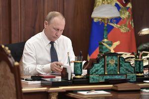 عکس/ اتاق کار پوتین