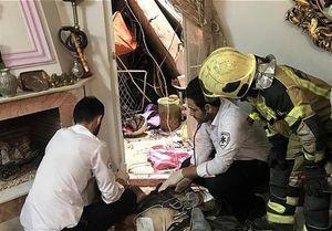 سقوط مرد جوان از برج مخابراتی در خیابان پیروزی +عکس