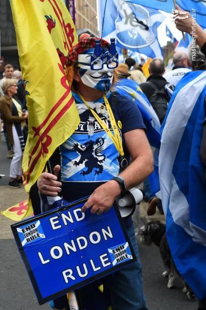 بر اساس گفته هماهنگکنندگان این راهپیمایی، مردم از سراسر اسکاتلند برای حضور در این راهپیمایی آمدند.