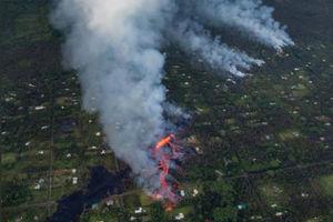 عکس هوایی از فاجعه در هاوایی