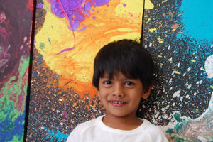 فیلم/ هنرمندی کوچک با آثاری بزرگ