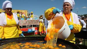 عکس/ بزرگترین «نیمرو» جهان