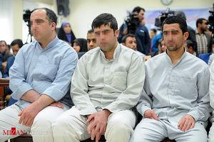 فیلم منتشرنشده از دادگاه داعشیهای تهران