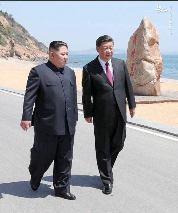 به گفته برخی منابع، هواپیمایی حامل بالاترین مقام کره شمالی روز دوشنبه (دیروز) در شهر شمالی دالیان چین به زمین نشست. این دومین سفر کیم به چین بعد از اعلام برنامه نشست مشترک سران کره شمالی و آمریکا  بود.