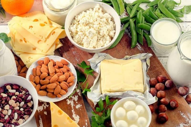 مصرف منابع غذایی حاوی کلسیم در فصل پاییز را فراموش نکنید