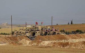 عکس/ پایگاه جدید آمریکاییها در شمال سوریه