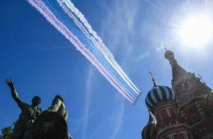 عکس/ رژه «روز پیروزی» در روسیه