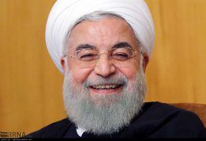 خنده های روحانی در جلسه امروز هیئت دولت