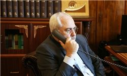 گفتگوی تلفنی جداگانه جانسون و لودریان با ظریف