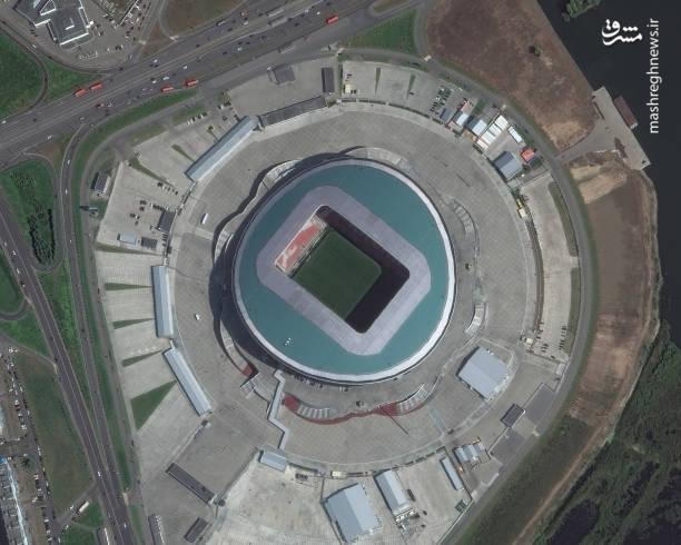استادیوم کازان آرنا-کازان، یکی از مدرن ترین و جدیدترین استادیوم های کشور روسیه می باشد، مسابقه ایران و اسپانیا در این استادیوم فوتبال برگزار خواهد شد. کازان آرنا ۴۵۳۷۹ نفر ظرفیت دارد.
