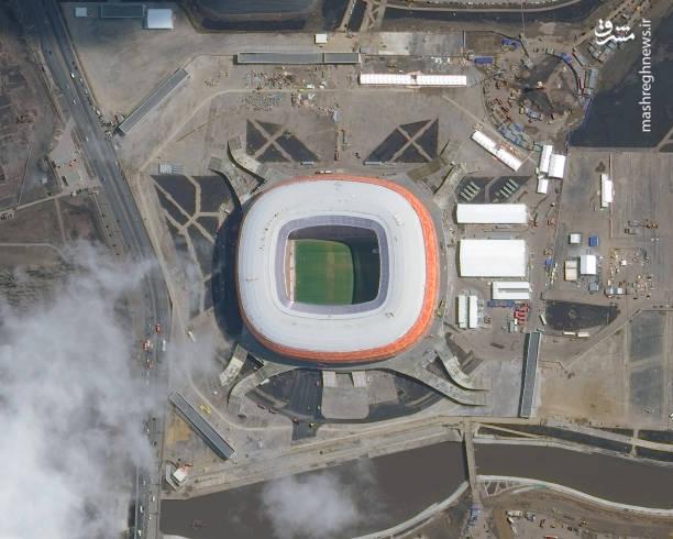 استادیوم موردویا آرنا- سارانسک،سارانسک کوچک ترین شهر میزبان مسابقات جام جهانی ۲۰۱۸ است که ساخت استادیوم ورزشی آن از سال ۲۰۱۰ آغاز شده است.