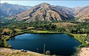 عکس/ طبیعت زیبای دریاچه دوخواهران