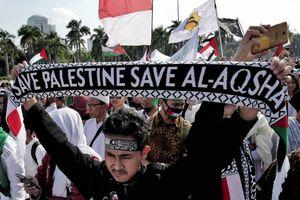 عکس/ تظاهرات گسترده مردم اندونزی در حمایت از قدس