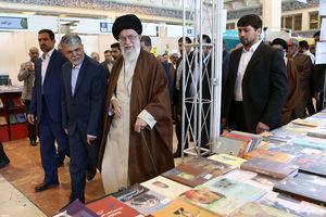 بازدید رهبرانقلاب از نمایشگاه کتاب تهران