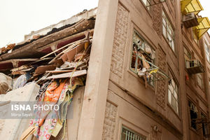 عکس/ انفجار گاز و تخریب خانه در اهواز