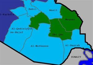 نگاه انتخاباتی به استانهای عراق