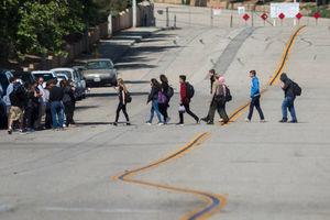 عکس/ تیراندازی در یکی از مدارس کالیفرنیا