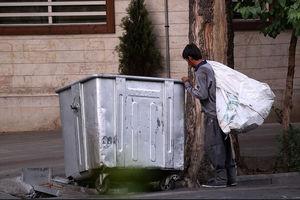 فیلم/ ماجرای کتک خوردن زباله گرد توسط مأمور شهرداری