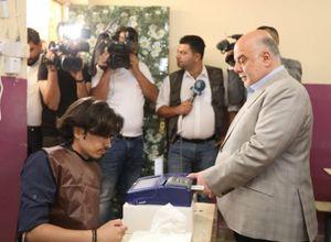 رویترز: فهرست العبادی پیشتاز انتخابات عراق است