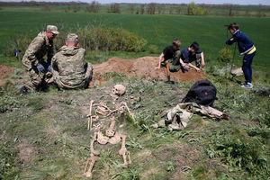 فیلم/ کشف اجساد سربازان جنگ جهانی دوم