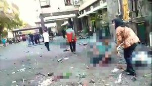 عکس/ انفجار مرگبار در اندونزی