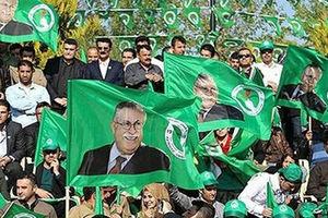 فیلم/ شلیک آر پی جی در جشن انتخاباتی!