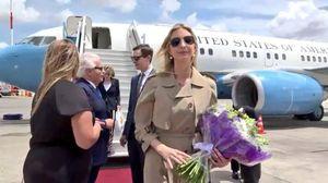 همراهی دختر شیطان برای افتتاح سفارت آمریکا در قدس +عکس