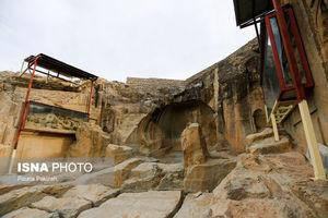 """عکس/"""" اژدها """" تنها معبد بودایی ایران"""