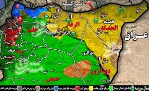 اختلاف میان نیروهای دموکراتیک کُرد، سناریوی جدید عربستان و آمریکا/ نیروهای کُرد و «احمد جربا» در شمال شرق سوریه به جان یکدیگر افتادند + نقشه میدانی