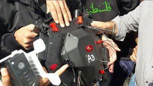 عکس/ سرنگونی پهپاد رژیم صهیونیستی در غزه