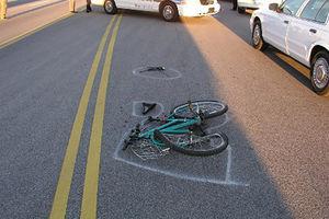 فیلم/ تصادف مرگبار دوچرخه سوار با تریلی!