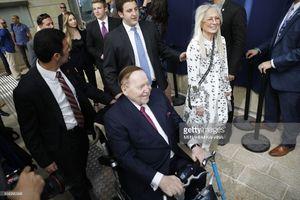 """عکس/ حضور """"سلطان قمار""""در سفارتخانه جدید آمریکا"""