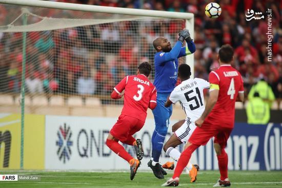 صعود سرخپوشان با پیروزی شیرین مقابل الجزیره/ پرواز 100 هزار نفری پرسپولیس با «سوپرمن»
