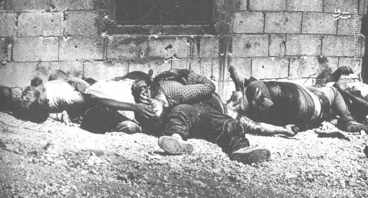 در کشتار طنطوره بیش از 200 مرد و زن به دست صهیونیست ها قتل عام شدند