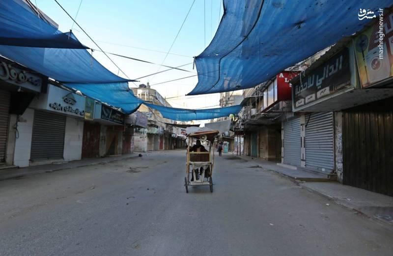 اعتصاب سراسری در غزه همزمان با برگزاری تظاهرات بزرگ بازگشت
