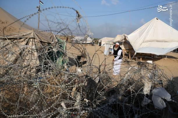 شهروندان فلسطینی  بخشی از مرزهای ساختگی با اراضی اشغالی سال 1948 را از میان برداشته اند