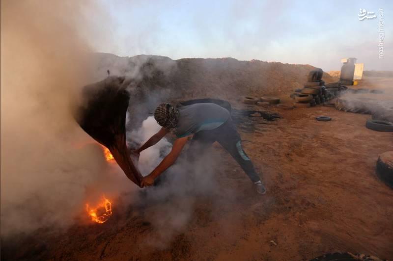 شلیک بمبهای گازی به سمت شرکتکنندگان در تظاهرات بازگشت