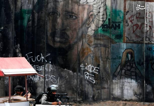 مجروحیت ۲۲ نفراز فلسطینی ها با گلوله جنگی بوده است