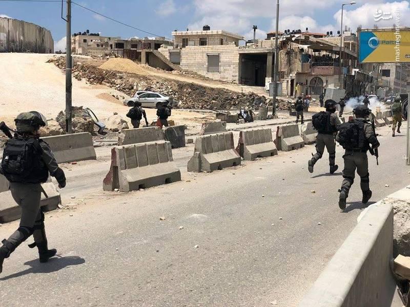 درگیری های شدید در یکی از ایست و بازرسی های قدس اشغالی