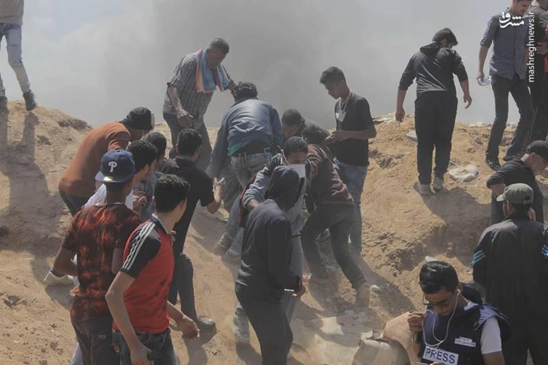 وزارت بهداشت غزه از کشته شدن هفتمین فلسطینی بر اثر تیراندازی نیروهای اسرائیلی در مرز غزه خبر داد