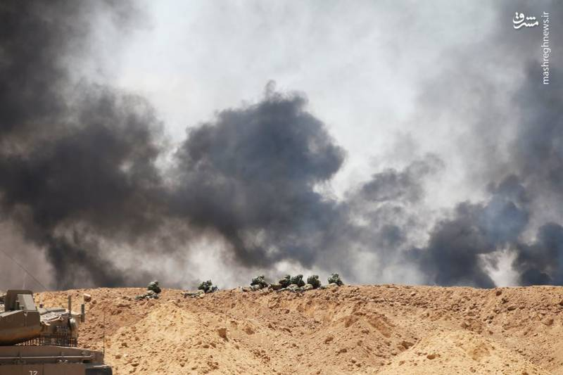 ارتش رژیم صهیونیستی شمار زیادی از نیروهای خود تک تیرانداز را در مناطق مرزی مستقر کرده است