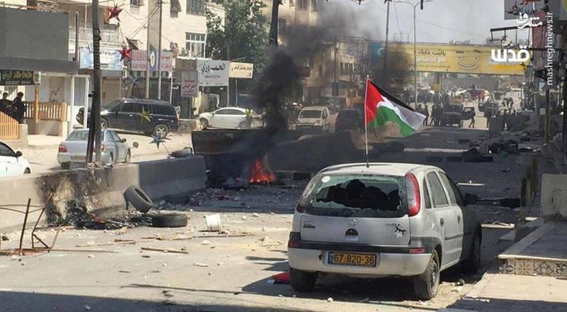 شدت گرفتن درگیری ها در شهر  قلندیا شمال قدس اشغالی