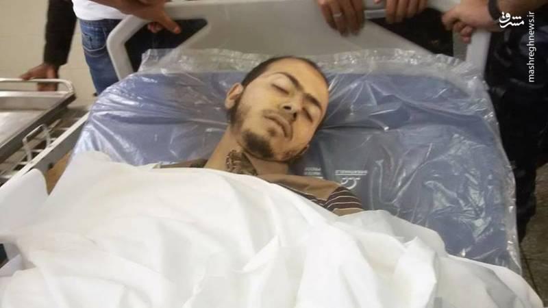 شهید 25 ساله فلسطینی  محمود يحيى حسين