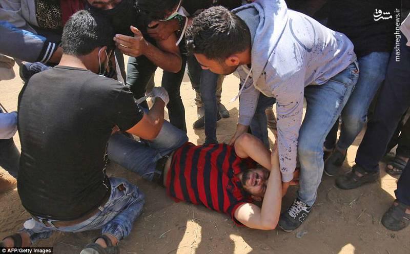 وزارت بهداشت فلسطین در نوار غزه شمار شهدای تظاهراتهای امروز دوشنبه تا این لحظه را 41 نفر اعلام کرد.