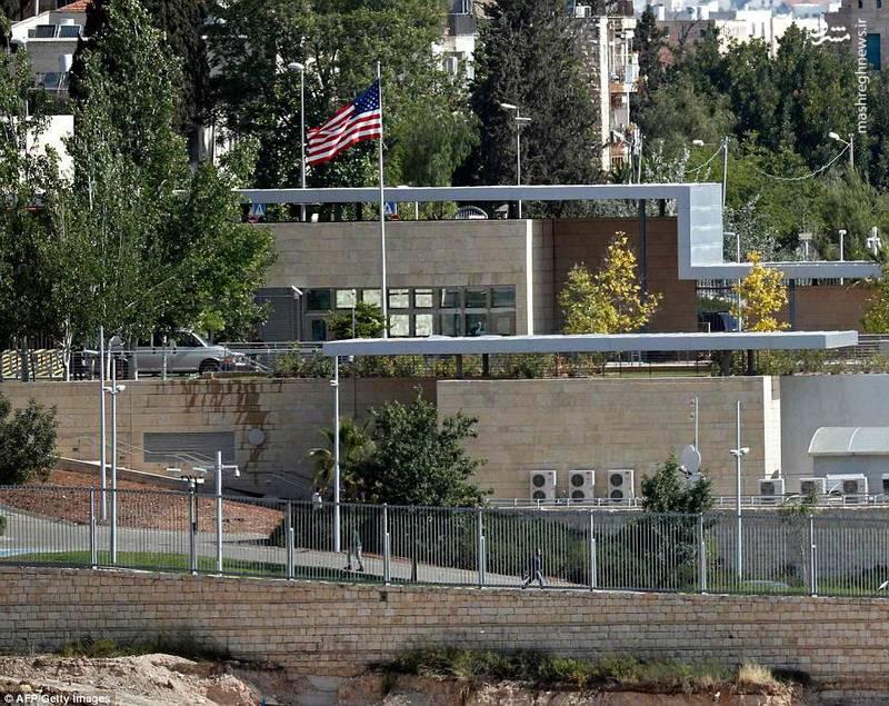 ساختمان سفارت جدید آمریکا در بیت المقدس