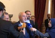 گفتگوی ظریف، موگرینی و سه وزیر اروپایی +عکس