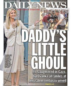 عکس/ کنایه روزنامه آمریکایی به دختر ترامپ!
