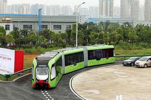 فیلم/ اولین قطار شهری بدون راننده در چین