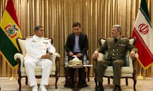 امیر حاتمی: آماده همکاری نظامی با بولیوی هستیم